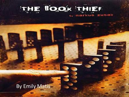 By Emily Matis. Markus Zusak Born on June 23, 1975 in Sydney, Australia. His father was a painter. Mother was German, and inspired him to write this book.