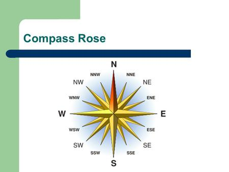 Compass Rose.