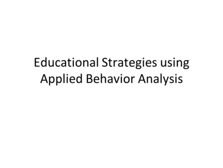 An analysis on immediacy behavior used by teachers