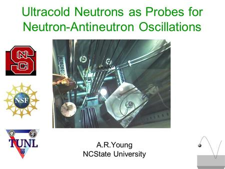 Ultracold Neutrons as Probes for Neutron-Antineutron Oscillations A.R.Young NCState University.