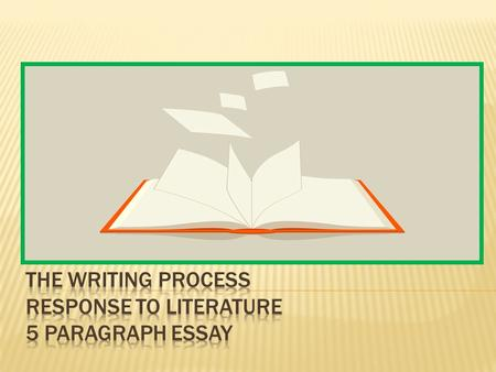 The introduction of the essay introduces the literary work, identifying the title, author, genre, main characters, and brief summary of the work. The.