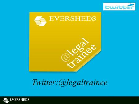 Agenda Eversheds – who we are What Methodology aligns to Eversheds strategy Considerations Achievements.