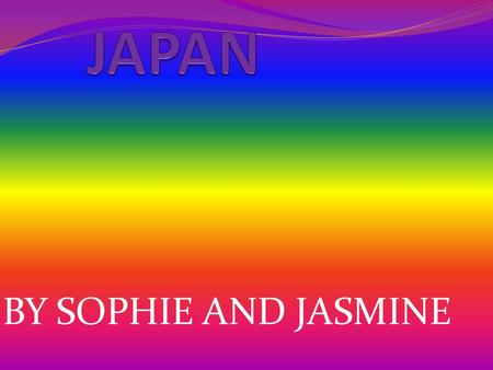 BY SOPHIE AND JASMINE Blossom and Sally Blossom and Sally are 6 They are moving to Japan They are going on the bullet train.