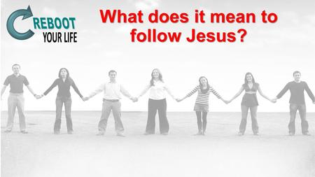 "What does it mean to follow Jesus?. Following Jesus Begins with understanding the culture of His day. ""Come, follow me and I will make you to become fisher."
