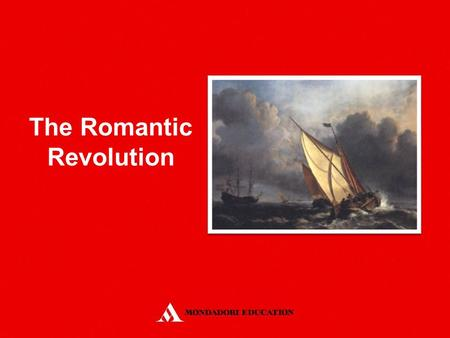 The Romantic Revolution. A Philosophical Enquiry into the Origin of Our Ideas of the Sublime and Beautiful (1757) Pre-romantic sensibility was characterised.