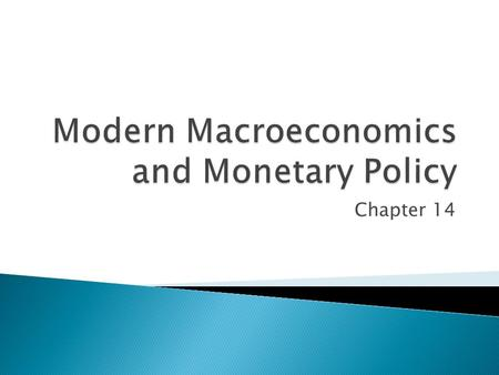 Chapter 14.  Discuss Milton Friedman's contribution to modern economic thought.  Evaluate appropriately timed monetary policy and its impacts on interest.