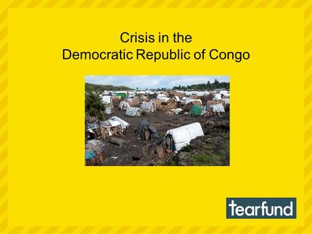 Crisis in the Democratic Republic of Congo. Conflict has brought misery and pain to the Democratic Republic of Congo. Some 1.3 million people have been.
