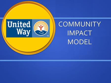 COMMUNITY IMPACT MODEL. Of Saginaw County INTRODUCTION AGENCIESPROGRAMS/ACTIVITIES COMMUNITY OUTCOMES.
