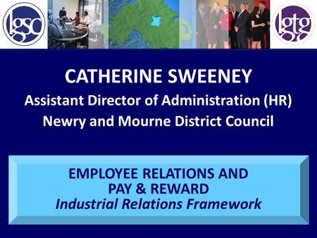 CATHERINE SWEENEY Assistant Director of Administration (HR)
