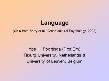 language cognition and culture pdf