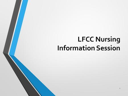 LFCC Nursing Information Session