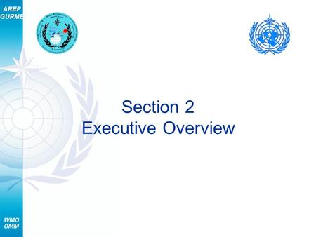 AREP GURME Section 2 Executive Overview. AREP GURME 2 Section 2 – Executive Overview Topics Why forecast air quality? What is needed? About the course.