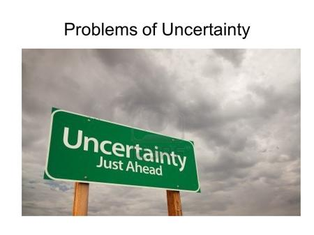 Problems of Uncertainty. Leon Walras Walras wanted to show evidence that free markets provide the optimal allocation of prices and factors by mathematical.