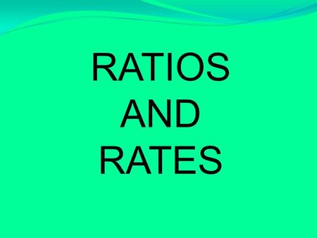 RATIOS AND RATES. Key Vocabulary: (Skip a line between words. Objective: RP.01 I can describe two quantities using a ratio. RP.02: I can use a ratio relationship.