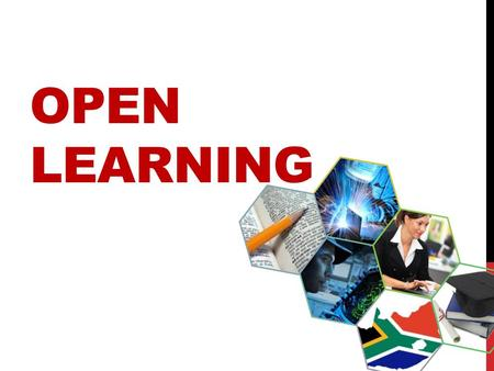 OPEN LEARNING. Open Learning is a possible strategy that can be used by the DHET to increase access to educational opportunities is the implementation.