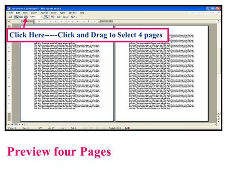 Preview four Pages Click Here-----Click and Drag to Select 4 pages.