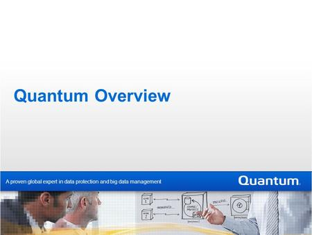 Quantum Overview A proven global expert in data protection and big data management.