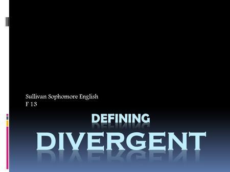 divergent eng sub