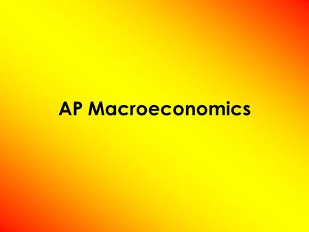 AP Macroeconomics. Measuring the Cost of Living Inflation ( π ) –occurs when the economy's overall price level is rising. Inflation Rate ( π %) –the percentage.