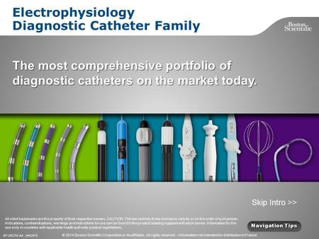 Electrophysiology Diagnostic Catheter Family