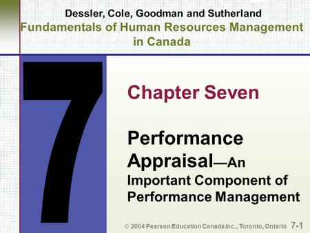 Performance Appraisal—An Important Component of Performance Management