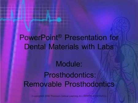 PowerPoint® Presentation for Dental Materials with Labs
