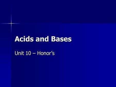 acid base powerpoint high school