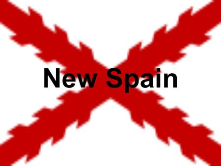 New Spain. Spanish Empire Christopher Columbus Christopher Columbus discovered America for Spain in 1492. Columbus thought that he could reach the Indies.