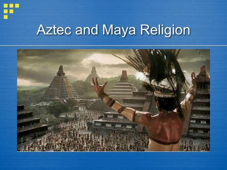 Aztec and Maya Religion. Question?  What is the difference between polytheism and monotheism?