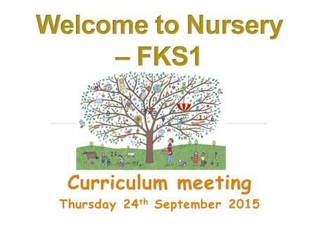 Curriculum meeting Thursday 24 th September 2015.