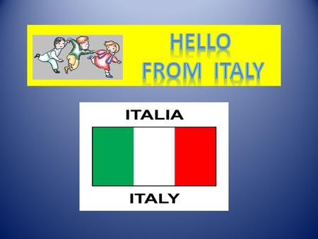Hi from Mrs. Lidia I'm an English teacher in a primary pubblic school in Italy. I teach English as foreign language in 9 classes and my students are from.