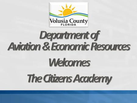 A service of Volusia County Government.