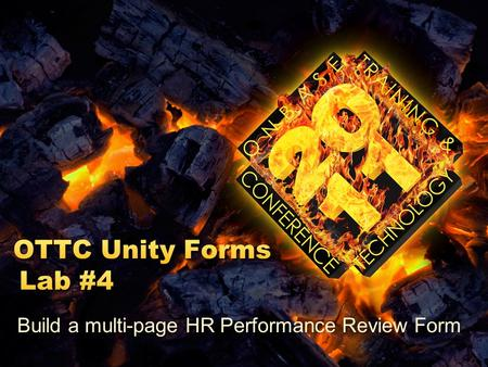 Build a multi-page HR Performance Review Form. For this lab, we will make a multi-page Unity Form to act as a Performance Review Form for our employees.