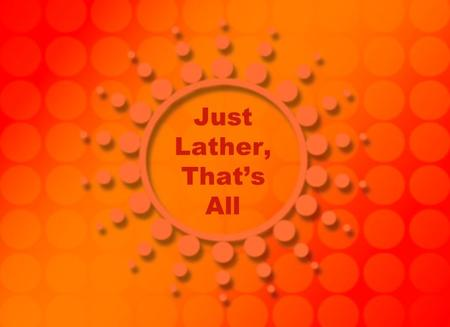 "just lather thats all by hernando tellez essay ""just lather, that's all"" just an experiment while attribution in formal essays usually gives an expert's credentials and qualifications."