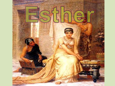 Hey, Hadassah/Esther, whatever your name is now… I just heard some dudes talking about killing the King! You need to tell him! There is an opinion.