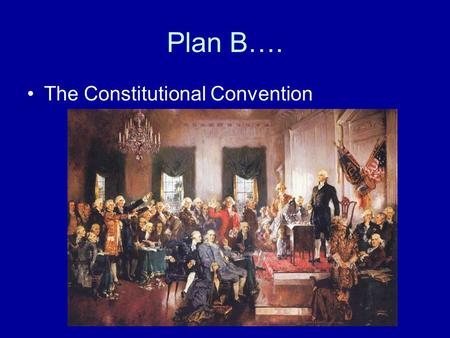 The conflicts faced by the delegates to the constitutional convention of 1787