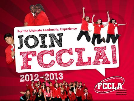 FCCLA's Mission To promote personal growth and leadership development through Family and Consumer Sciences education. Focusing on the multiple roles of.