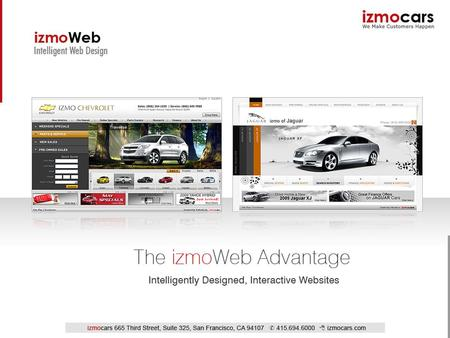 Introduction to izmocars Innovative Internet business solutions provider to the automotive industry Industry leader in interactive automotive content.
