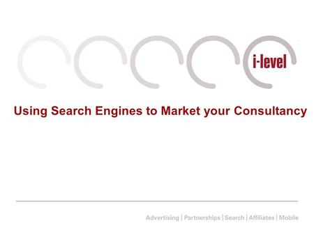 Using Search Engines to Market your Consultancy. What are Search Engines?
