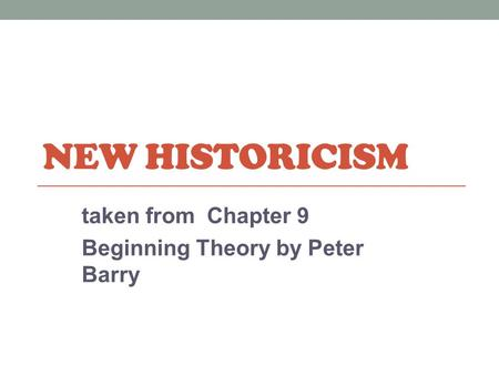peter barry beginning theory pdf