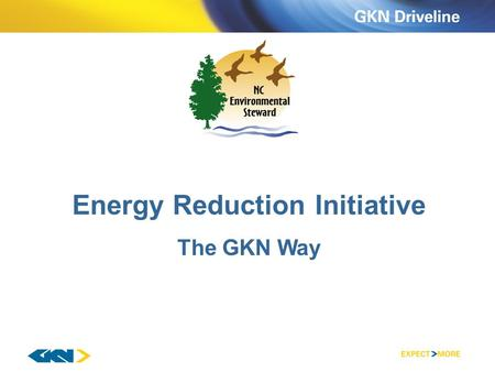 Energy Reduction Initiative