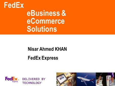 FedEx eBusiness & eCommerce Solutions