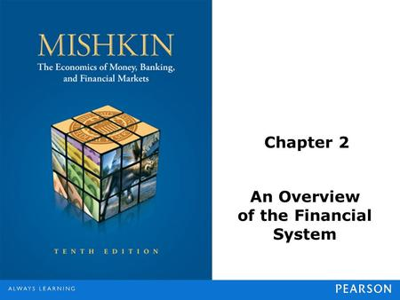 Chapter 2 An Overview of the Financial System. © 2013 Pearson Education, Inc. All rights reserved.2-2 Function of Financial Markets Perform the essential.