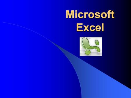 Microsoft Excel. Today's Topics Overview of the Excel Screen The Excel Menus: File, Edit, View, Insert, Format, Tools, Data, Window, Help Entering Formulas.