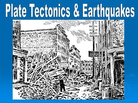 Earthquakes in Western Canada  What causes earthquakes? National Geographic Video National Geographic Video on the Cause of Earthquakes National Geographic.