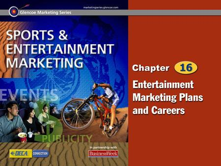 Entertainment Marketing Plan Entertainment Marketing: Education and Careers 2.
