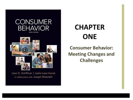 Consumer Behavior: Meeting Changes and Challenges