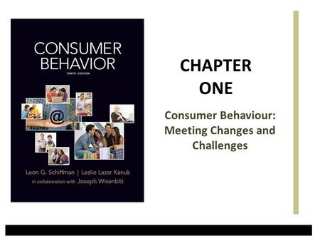 Consumer Behaviour: Meeting Changes and Challenges