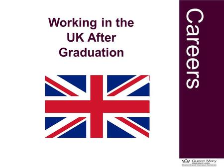 Careers Working in the UK After Graduation. Careers Some facts… 57.7% offer starting salaries of £22,001 - £27,000 Average vacancies per employer: 20.