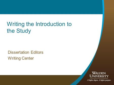 Assumption Dissertation Writing